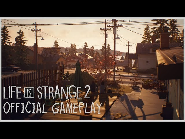 Life is Strange 2 - Official Gameplay - Seattle