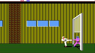Karateka - Nes - Full Playthrough - No Death