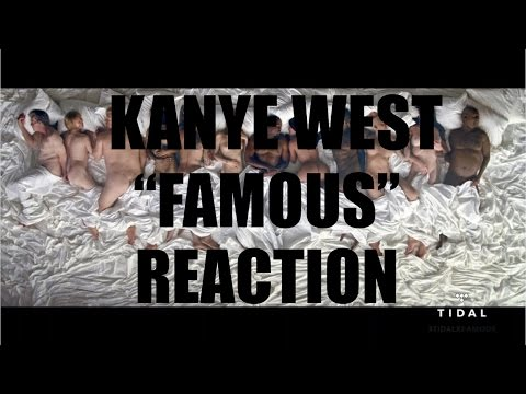 KANYE WEST FAMOUS MUSIC VIDEO | #KHRISandCHINA REACTION