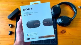 Sony WF-1000XM3 Unboxing & First Impressions