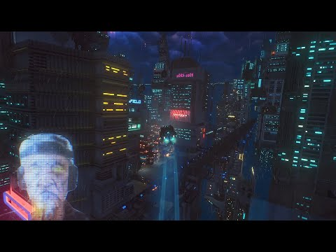 Cloudpunk trailer teases a taxi driver's first night in the big city | PC Gamer