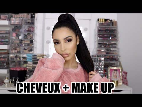 MAKE UP NUDE FLAWLESS + ASTUCE QUEUE PARFAITE COMME ARIANA !
