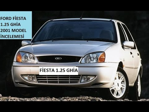 ford fiesta ghia 2001 model ncelemesi t rk e ikinci el mk5 youtube. Black Bedroom Furniture Sets. Home Design Ideas