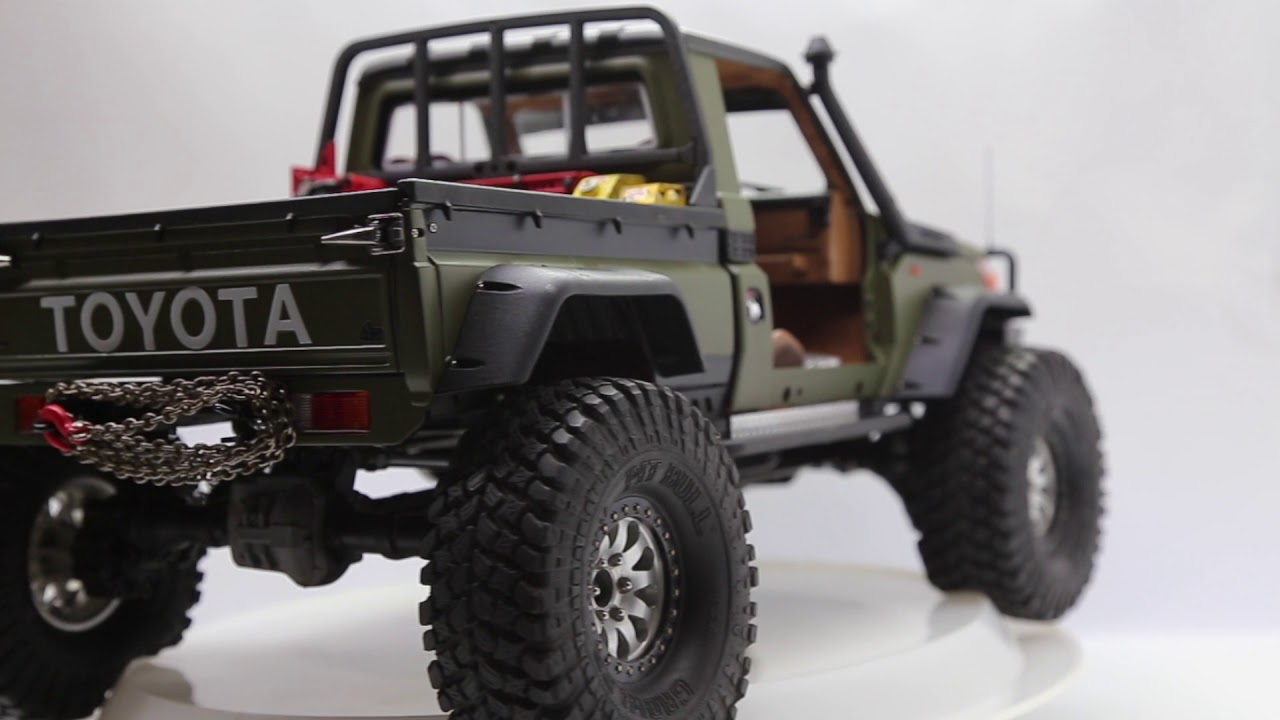 Toyota Land Cruiser 70 >> Killerbody LC70 and Traxxas TRX4 upgrades by SupaScale RC ...