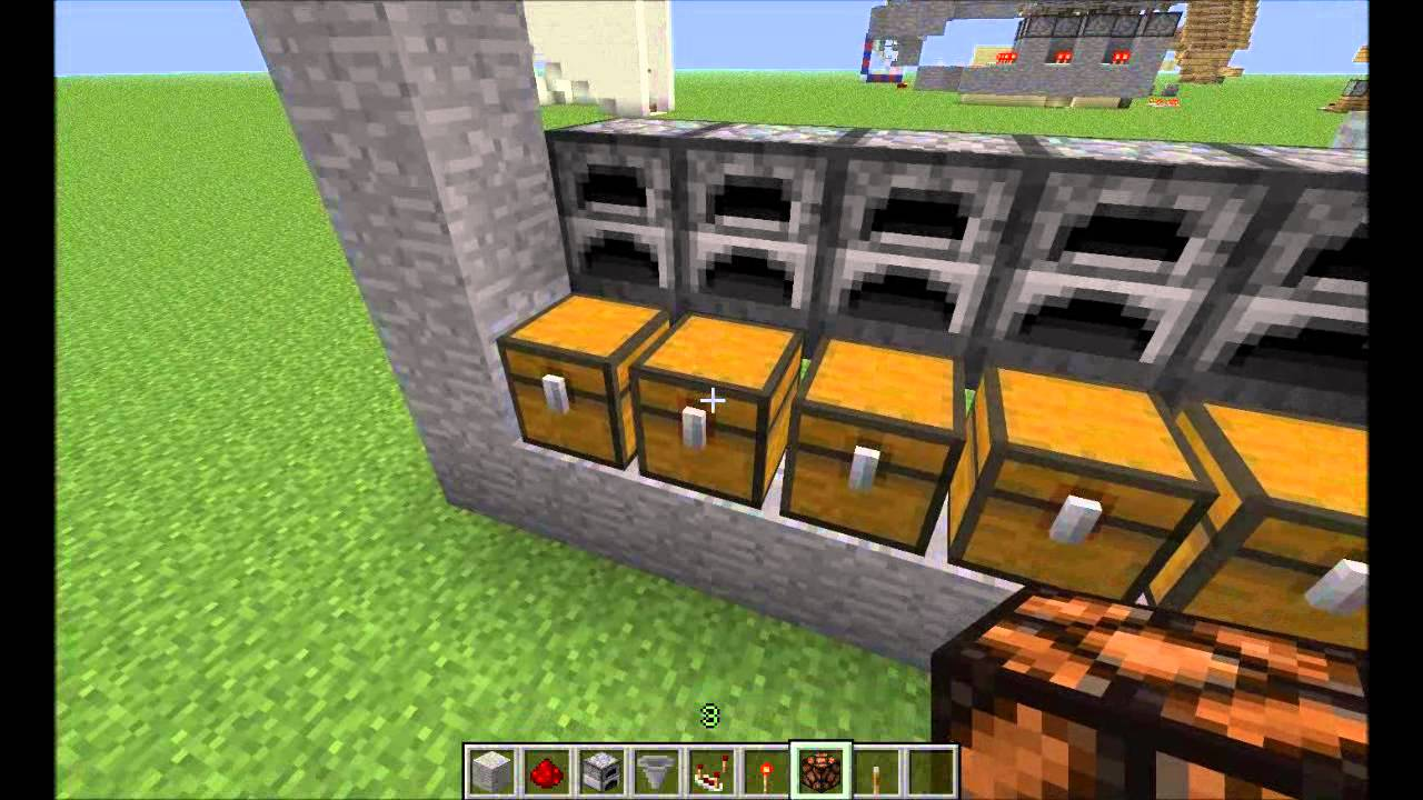 secret base redstone tutorial #30 new furnace alarm