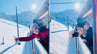 Switzerland Vlog : Jungfraujoch via Interlaken • Back to Riyadh