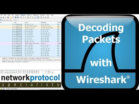 Decoding Packets with Wireshark