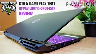 HP Pavilion Gaming Laptop 9th Generation 2019 4GB NVIDIA GTX 1050 with GTA 5 Gameplay Test