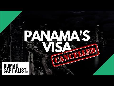 CANCELLED: Panama's Friendly Nations Visa