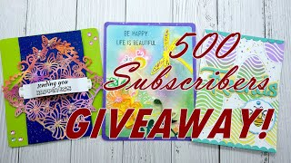 500 Subscribers GIVEAWAY! #September New Items Preview#Crafts