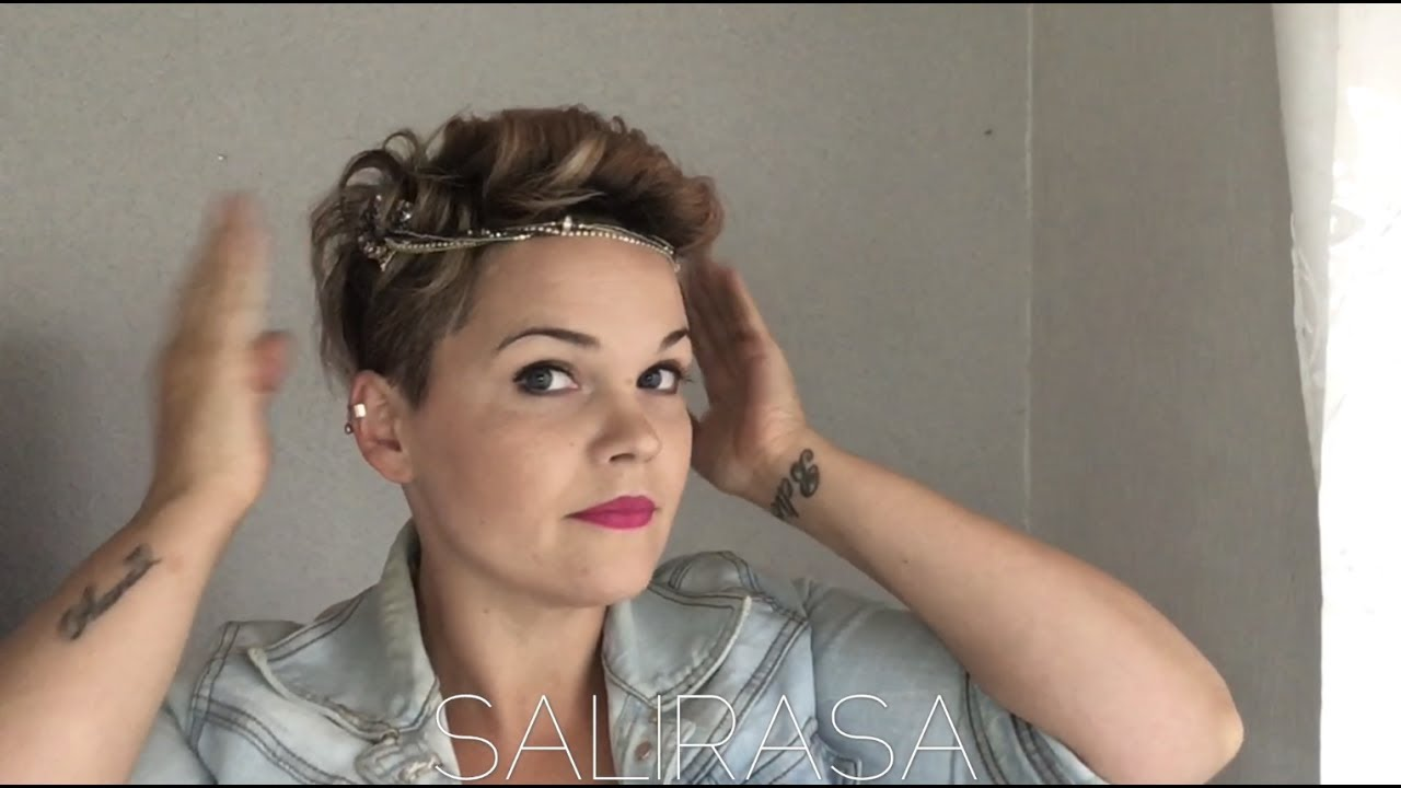 Hair Style U Cut: Easy Hairstyle For A Pixiecut