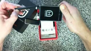 Henley Electronic Cigarette Review:Henley Cig Deluxe Kit ecig unboxing discount coupon (#1)