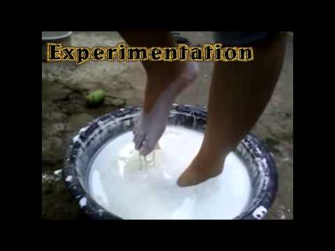 Law of Interaction (Using Cornstarch and Water Mixture)