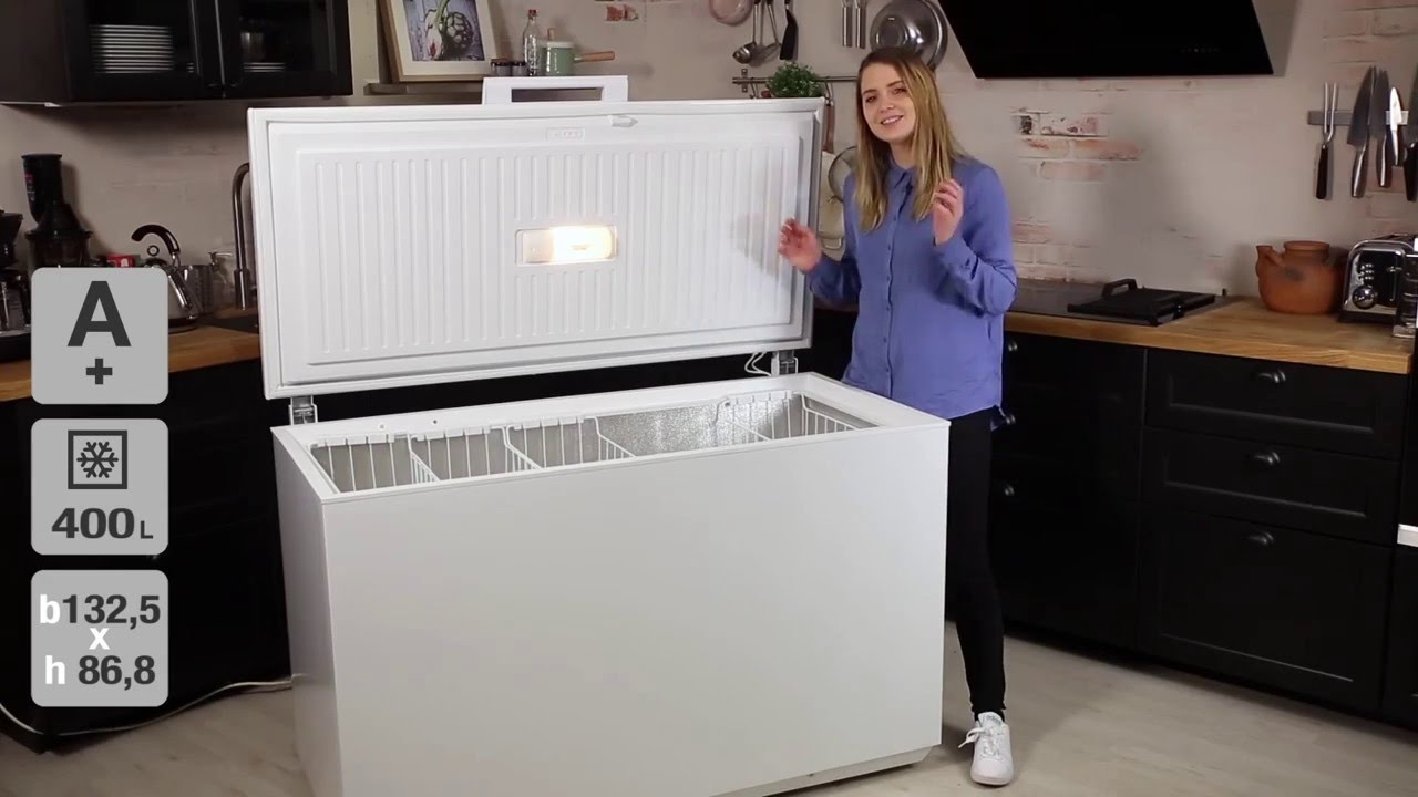 Electrolux EC4231AOW kummefryser - YouTube