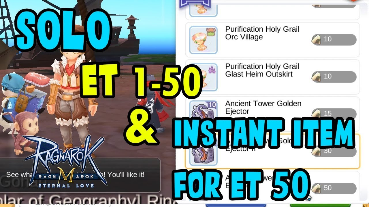 Sniper LV 78 Solo Endless Tower 1-50 - Ragnarok M: Eternal Love (SEA)