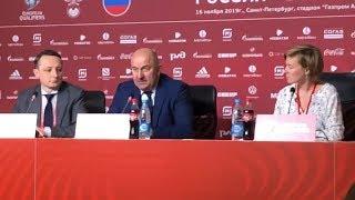 Черчесов объяснил почему сыграл с Бельгией в атакующий футбол