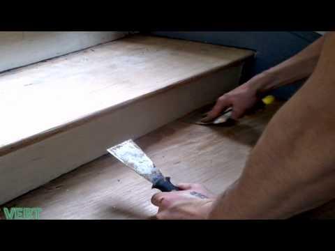 blue vert restauration d 39 escalier en bois youtube. Black Bedroom Furniture Sets. Home Design Ideas