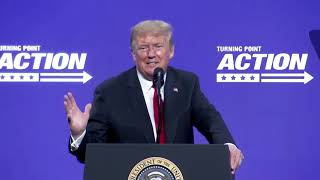 Trump asks what the '19' in COVID-19 stands for