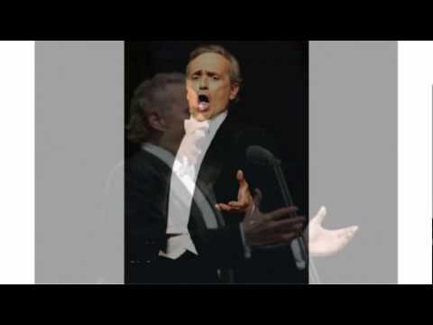 "Jose Carreras Sings ""Lascia Ch'io Pianga"" From The Opera ""Rinaldo"" Of Händel (Studio Recording)"