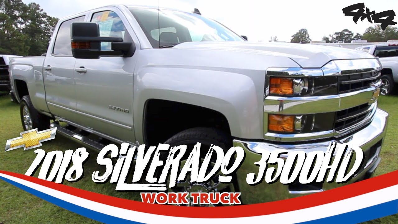 NEW 2018 Chevrolet Silverado 3500HD | REVIEWING & TESTING FEATURES ...