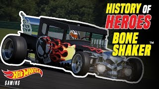 History of Heroes: Bone Shaker | Hot Wheels Gaming | Hot Wheels