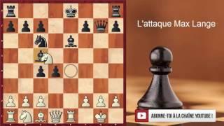 Ouverture italienne : L'attaque Max Lange aux échecs pour débutants