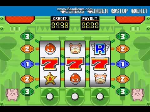Slot Machine Pokemon Leaf Green