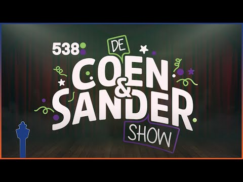 Yes! Coen en Sandershow radio 538 bij de luchtverkeersleiding