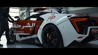 Abu Dhabi Police - Introducing the Lykan Hypersport (4K)