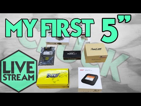"My First 5"" Mini Quad - Armattan Rooster - Live Stream"