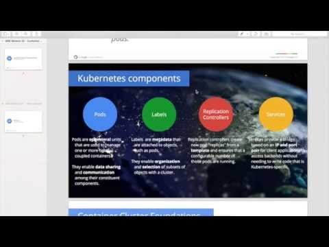 Kubernetes + Google Container Engine Demo