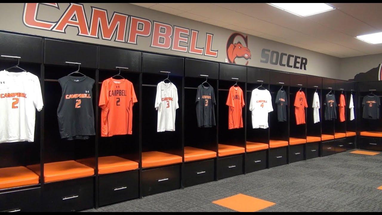 Campbell Baseball Locker Room