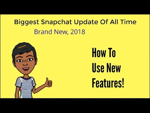 Huge Snapchat Update February 2018 Review - How To Use New Features