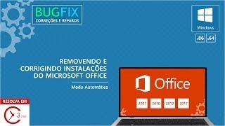 Desinstalar Office 2007 2010 2013 2016 em menos de 3 minutos