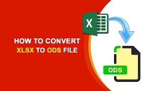 Gambar cover How to Converter Xlsx to ODS file? XLSX To ODS