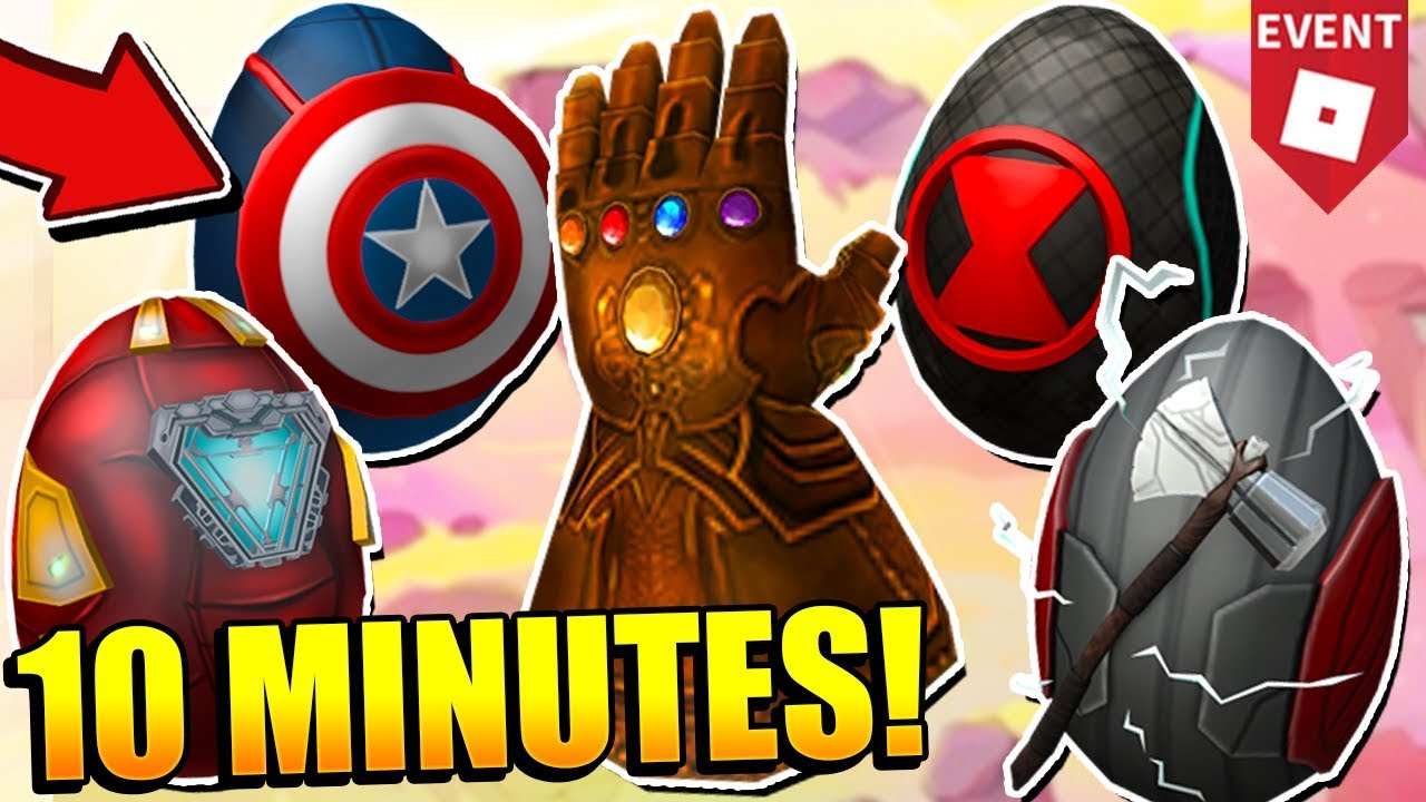 How To Get Avenger Eggs Thanos Egg In 10 Minutes Roblox Egg