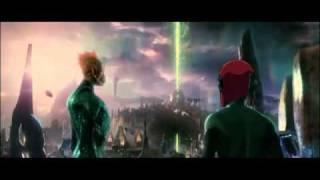 Green Lantern Movie Trailer... with Pool-O-Vision