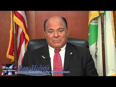 Dan Medina for Gardena City Council 2015 by filmmaker Keith O'Derek