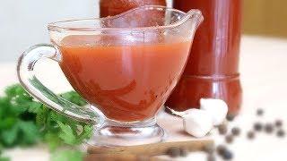 Томатный соус остро сладкий к мясу и рыбе