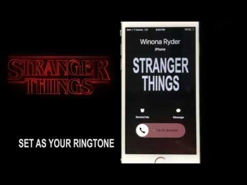 Stranger Things Theme Song Instrumental Ringtone