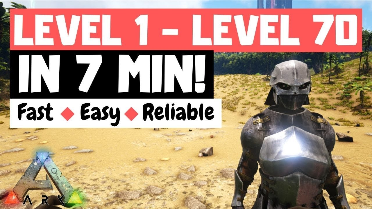 Download (UPDATED) Island Note Run LEVEL 1 TO LEVEL 70 IN 7 MINUTES! | ARK: Survival Evolved