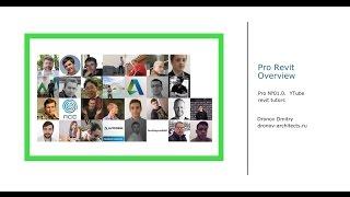 Pro Revit #01. Youtube уроки, каналы и обучение