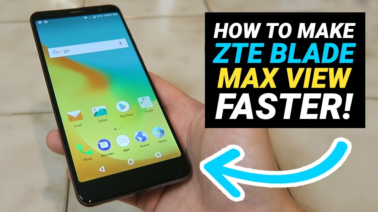 How to Make ZTE Blade Max View Faster! (No need to install anything)