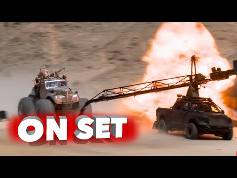Mad Max: Fury Road: Full Behind the Scenes Movie Broll - Tom Hardy, Charlize Theron