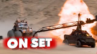 Mad Max: Fury Road: Full Behind the Scenes Movie Broll - Tom Hardy, Charlize Theron streaming