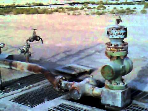Gas Lift Well at Marmul Oil & Gas field in Oman 08/07/2008