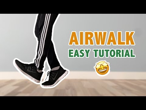 How To AirWalk (Dance Move) | Step By Step Dance Tutorial For Beginners
