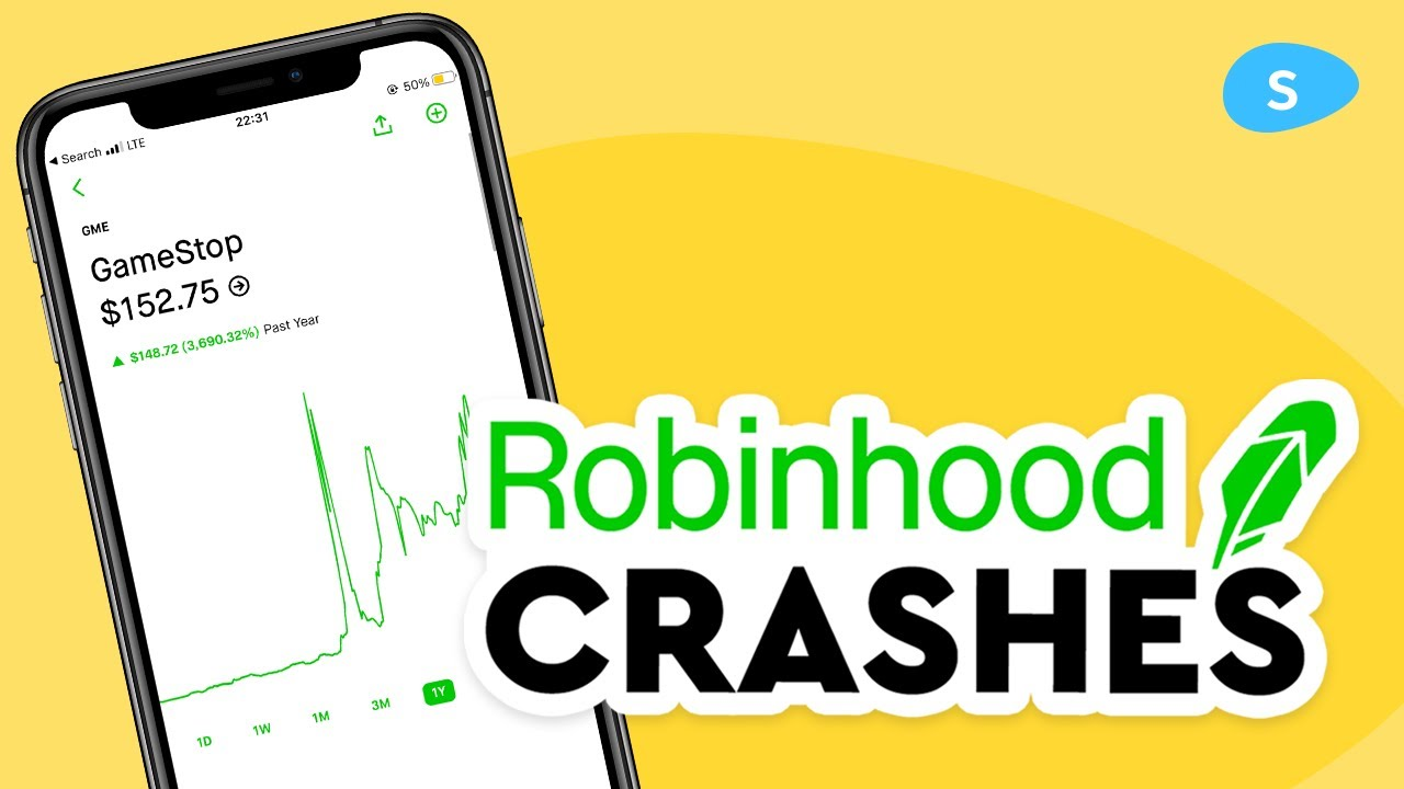 How Robinhood App Crashed on the best day in Wall Street history 📉