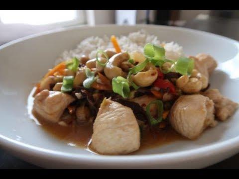 Kuchnia Chińska Kurczak Z Orzechami Nerkowca