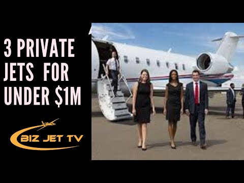 3  Private Jets For Under $1M